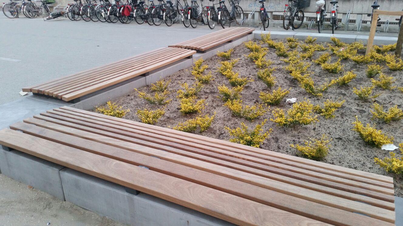 Cumaru als duurzame zitplaats in Rotterdam
