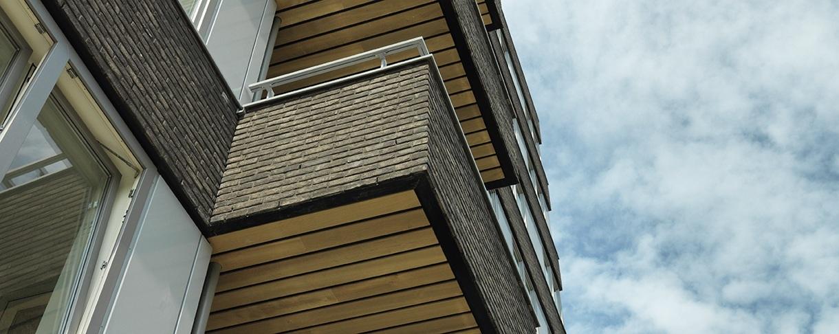 Hardhouten dekdelen voor plafond van hardhout