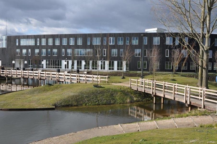 Hardhouten loopbrug Eersel 2012