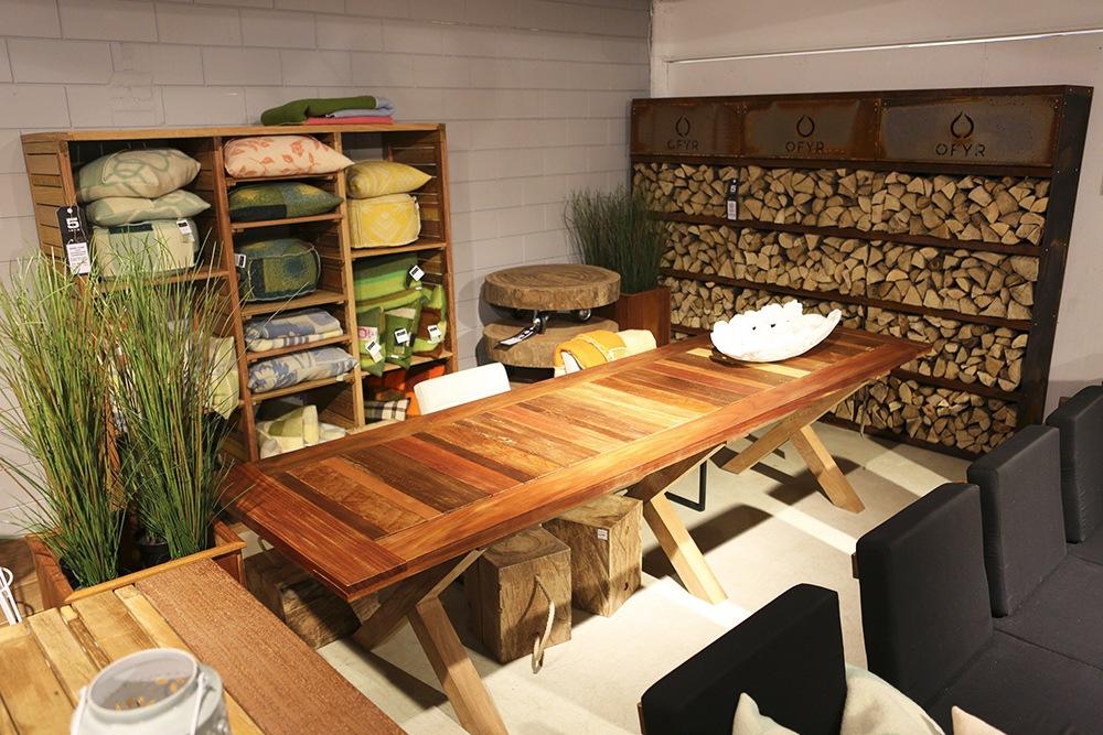 Hardhouten tafel Upcycled Wood