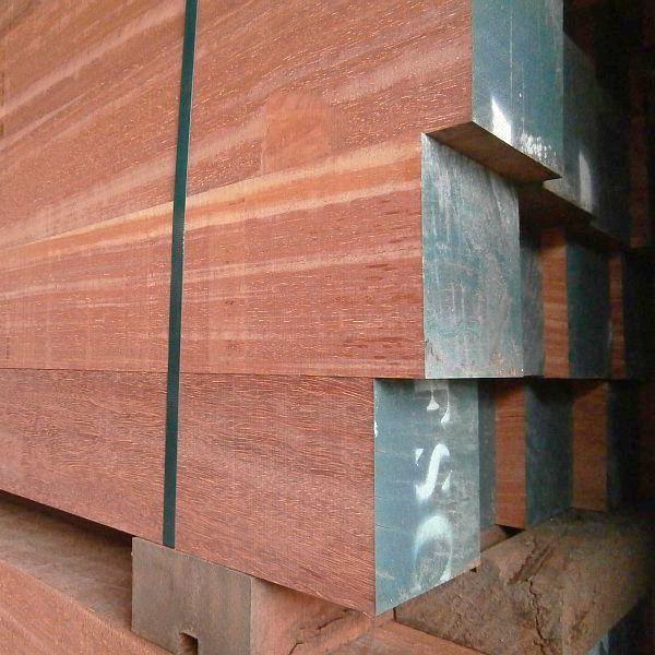 Hardwood poles in standard sizes or custom made