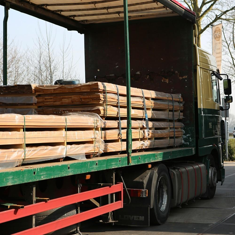 Delivery of sustainable hardwood