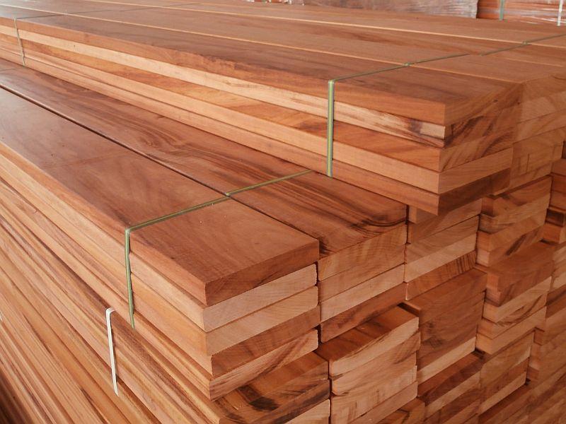 Muiracatiara planken hardhout FSC