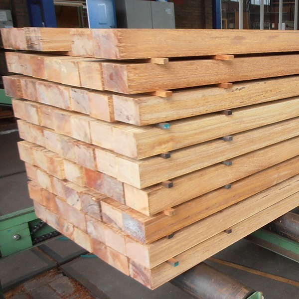 Sapupira hardwood beams