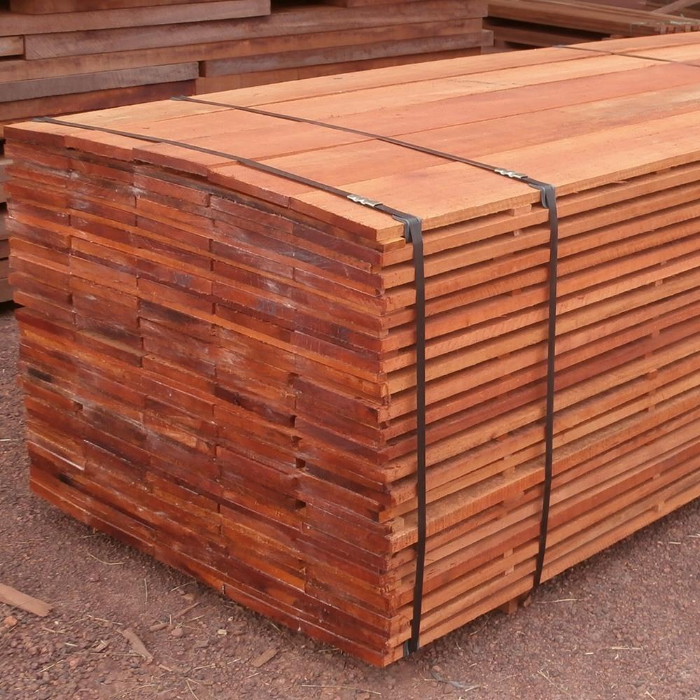 Bunch hardwood planks