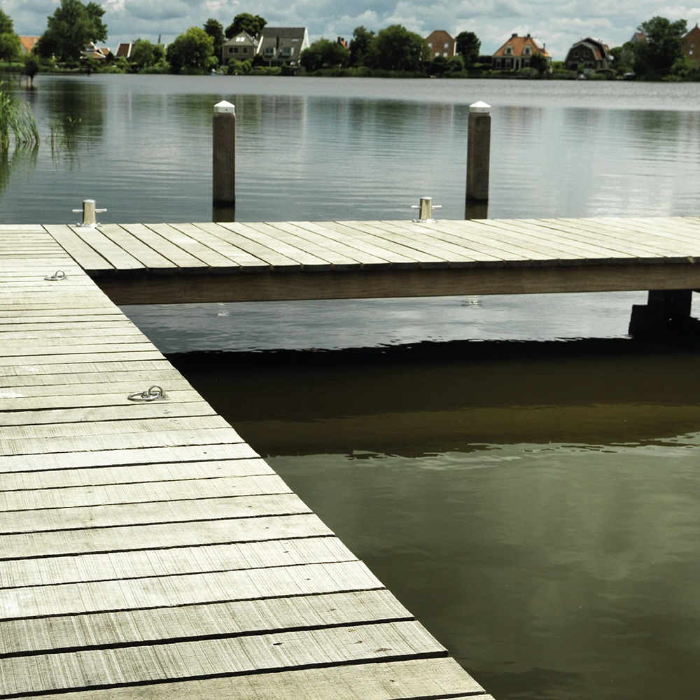 Hardwood used for a beautifull jetty