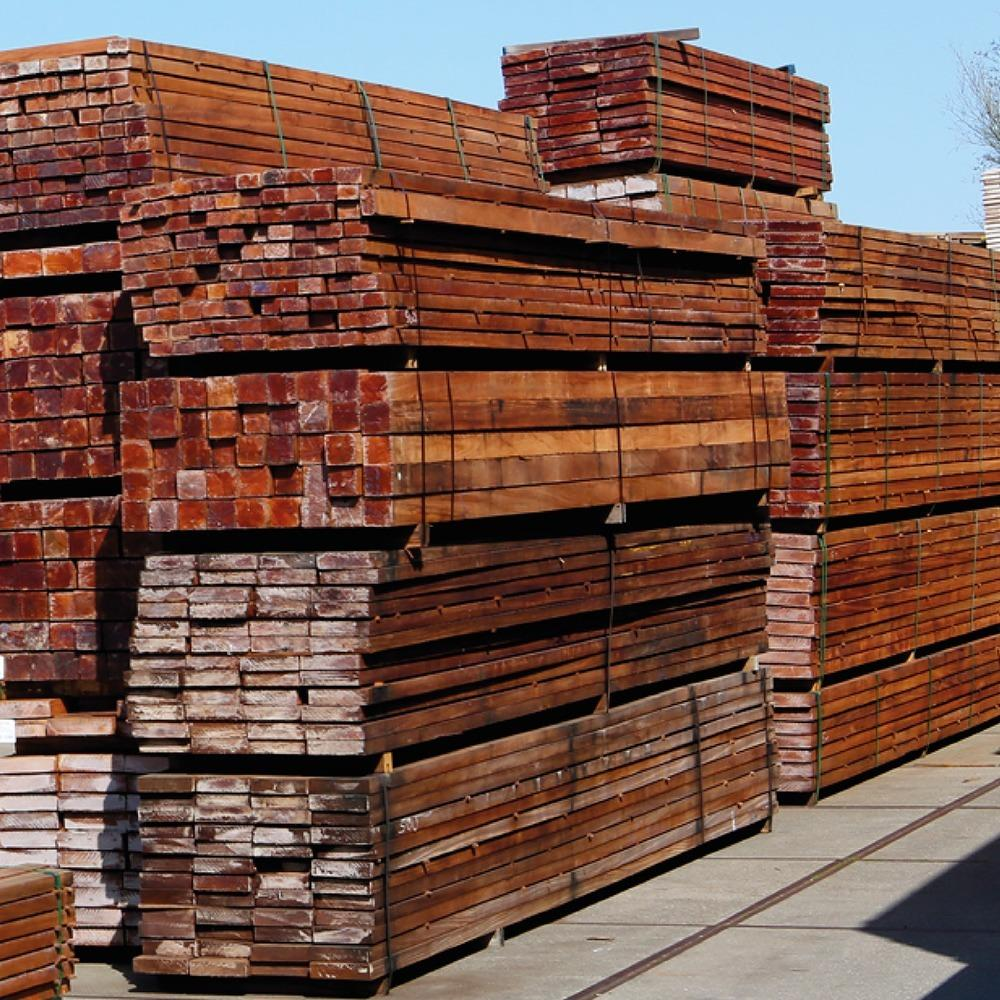 Opslag duurzaam hardhout