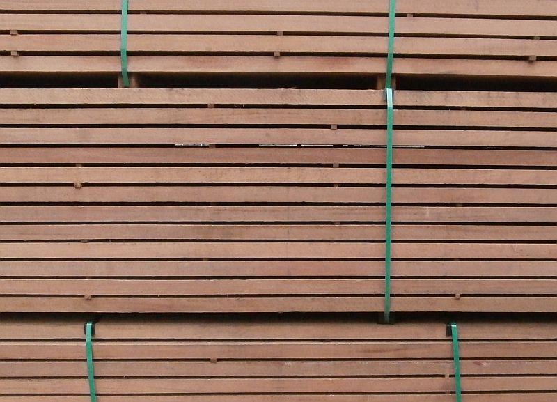 Piquia Marfim gezaagde ruwe hardhout planken