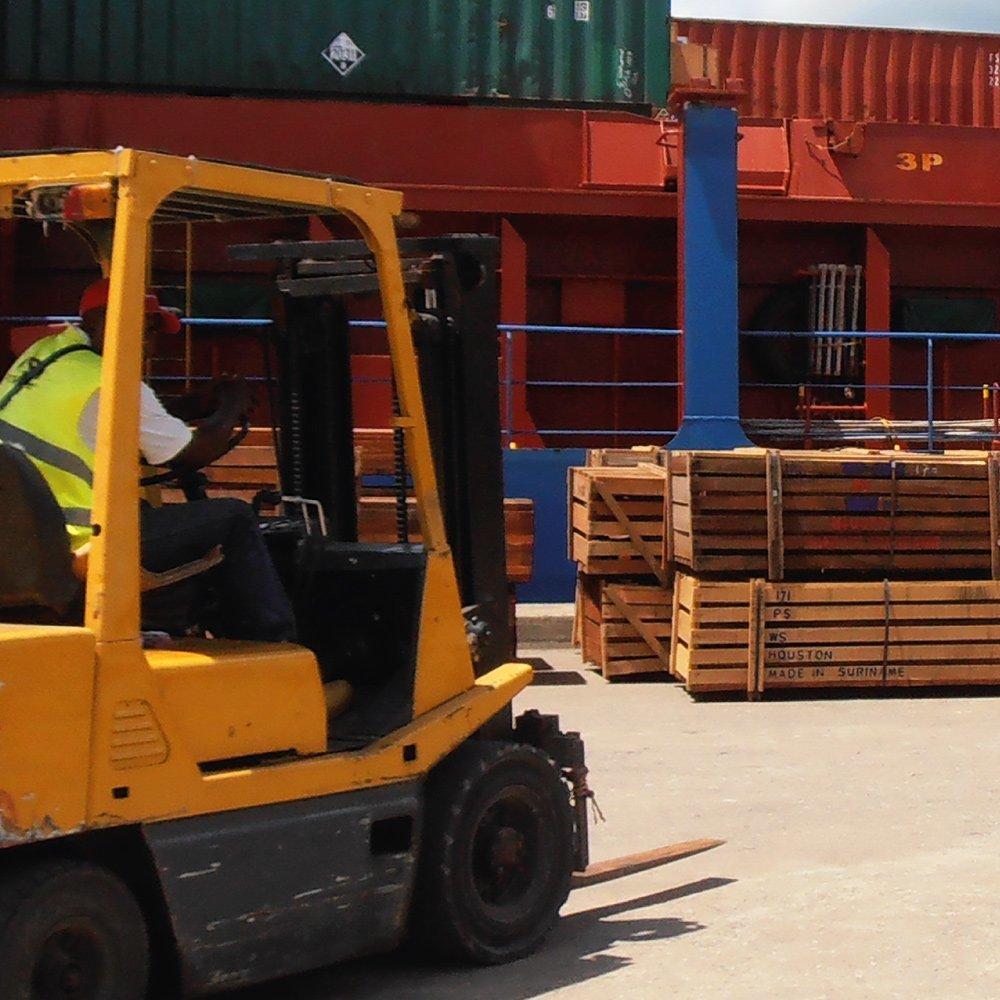 Snelle levering van hardhout