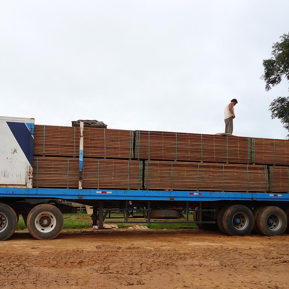 Transport hardhout