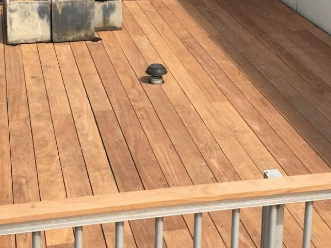 Cumaru wood suitable for outdoor terraces