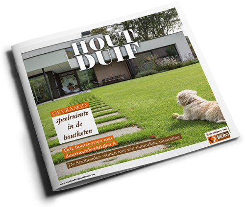 Sign up for our magazine HOUTduif for free