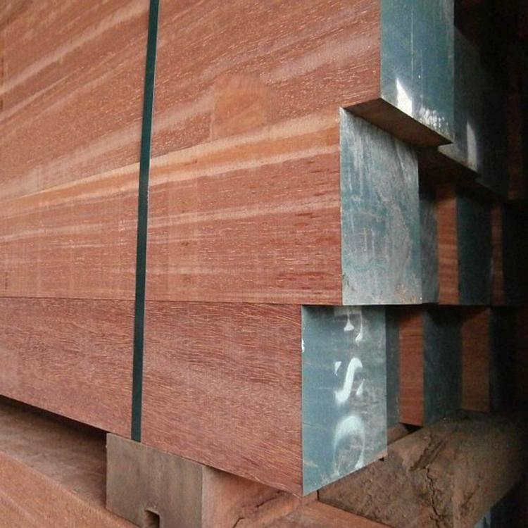 Hardwood poles from FSC wood
