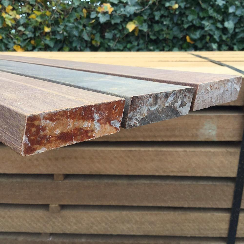 Hardwood slats and battens - Van den Berg Hardhout