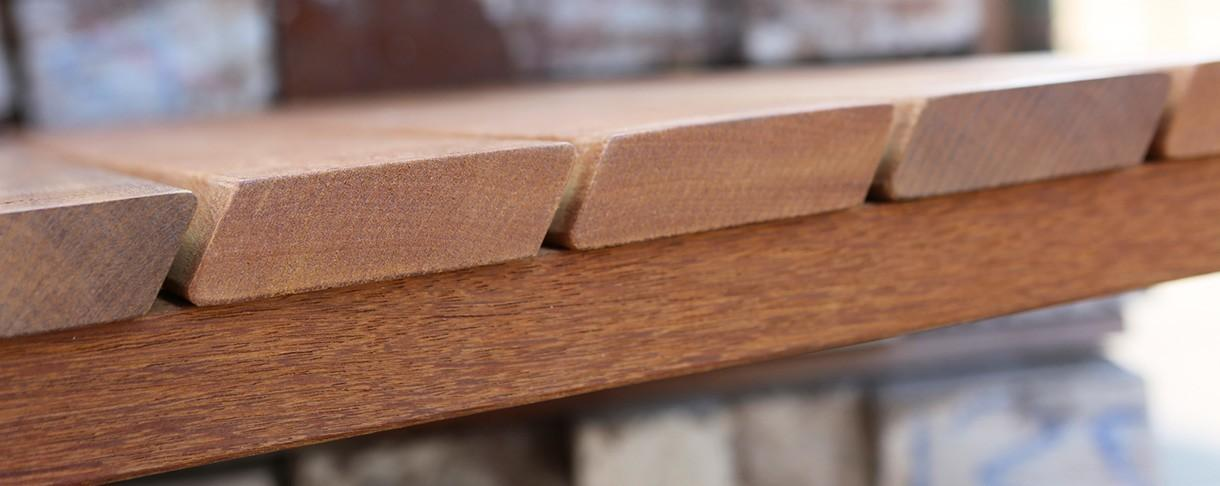 Sustainable Hardwood slats and battens